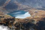 Lago di Emet e Rifugio Bertacchi