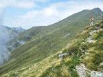Sentiero Bocchetta del Lago - Rifugio S. Jorio