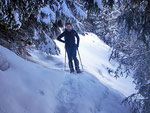 Marco sul sentiero Monti di Saurù - Cap. Brogoldone
