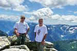 Ilario e io sul Pizzo d'Orsalia 2664 m