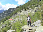 Nelle vicinanze dell'Alpe Aion