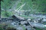 Deviazione per la Val di Larciolo a 1637 m