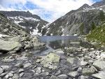 Lago grande della Cròsa 2153 m