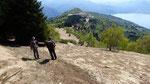 Al centro il Monte Carza