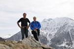 Luciano e io sul Cucchetto 1571 m