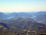 Vista verso il Lago Ceresio
