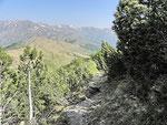 Sentiero Bocchetta di San Bernardo - Cima di Fojorina