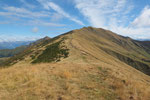 A sinistra il Monte Tamaro e la cresta per il Gradiccioli