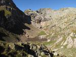 Lago Leiarozza completamente a secco