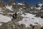 a 2524 m attraversiamo il Sidelenbach