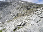 Bivacco Ca Bianca 2575 m (CAI) (sotto il Piz de Montagnìa)