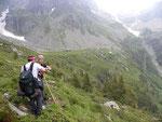 Nelle vicinanze dell'Alpe di Örz