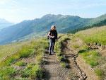Sul sentiero per il Passo Bareta