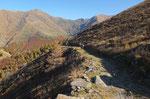 Sentiero per l'Alpe Matro