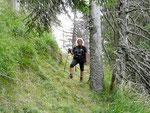 Sul sentiero Alp de Martum - Alpe di Stabbiello