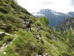 Verso l'Alpe Aion