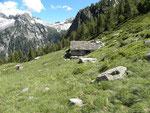 Alp de Vazzola 1804 m - Val Cama (GR)