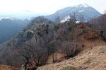 Monte Saletta e Monte Boglia nella nebbia