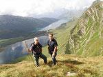 Ilario e io al Lago di Stabbio
