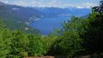 Panoramica dal Monte Carza