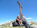 Daria e io sul Gaggio 2267 m