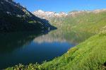 Lago di Lucendro e Pizzo Lucendro