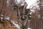 Una figura del bosco ......