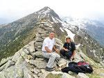 Daria e io sul Martum 2039 m