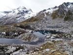 Laghetti senza nome 2442 m sotto il Piz dalla Val