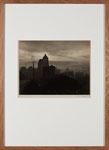 """Victor Pokorny """"The Smoky city"""", 1937, vintage, ca. 26x34 cm"""