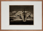 "Mildred Hatry ""Refueling"", 1940er, ca. 33x40 cm"