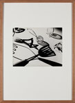 "Rouben Samberg ""Kitchen utensils"", um 1938, vintage, ca. 27,6x34,8 cm"