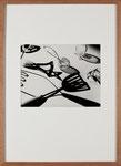 """Rouben Samberg """"Kitchen utensils"""", um 1938, vintage, ca. 27,6x34,8 cm"""