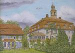 Schloss Unwürde Neubau durch die von Hund im 18.Jh.