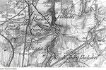 Karte mit Unwürde zwischen Löbau und Georgewitz