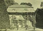Unwürde, Orangerie um 1910
