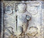 Wirrwitz/Wierbice Grabplatte Hans Reibnitz 1579 (Unwürde-Grosselter)