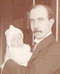 Wolf v.Unwerth mit Tochter Sigrid 1914