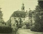 Schloss Unwürde um 1910