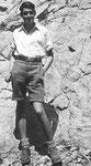 Henry Kempe als Wandervogel