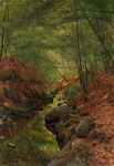 PEDER MORK MONSTED, Bachlandschaft in Moesgaard, CHF 31'200, June 2014