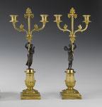 Ein Paar Spätempire-Kandelaber, Frankreich, um 1830, CHF 13'080, Juni 2008
