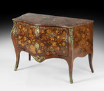 "Kommode ""A Fleurs"", Pierre Roussel (1723-1782), Louis XV., Frankreich, um 1750, CHF 48'000, November 2011"