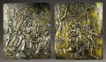 Gegenstücke: Relief Flucht nach Ägypten und Kreuztragung, Augsburg, um 1620-30, CHF 13'080, November 2008
