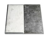 """CARL ANDRE, """"Tin-Steel Wide Pair"""", CHF 45'600, June 2015"""