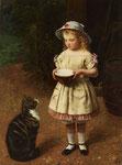 OTTO SCHOLDERER, Kind mit Katze, CHF 72'000, November 2010