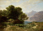 ALEXANDRE CALAME, Lac des Quatre-Cantons (Vierwaldstättersee), CHF 67'200, November 2013
