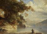 JOHANN GOTTFRIED STEFFAN, Am Vierwaldstättersee, 1855, CHF 30'000, Juni 2012