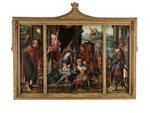 Atelier des PIETER COECKE VAN AELST, Anbetung der Drei Könige Triptychon, CHF 52'800, Juni 2015
