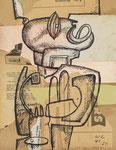"LE CORBUSIER / eigentlich CHARLES-EDOUARD JEANNERET, ""Ubu-Bois"", CHF 39'600, Juni 2016"